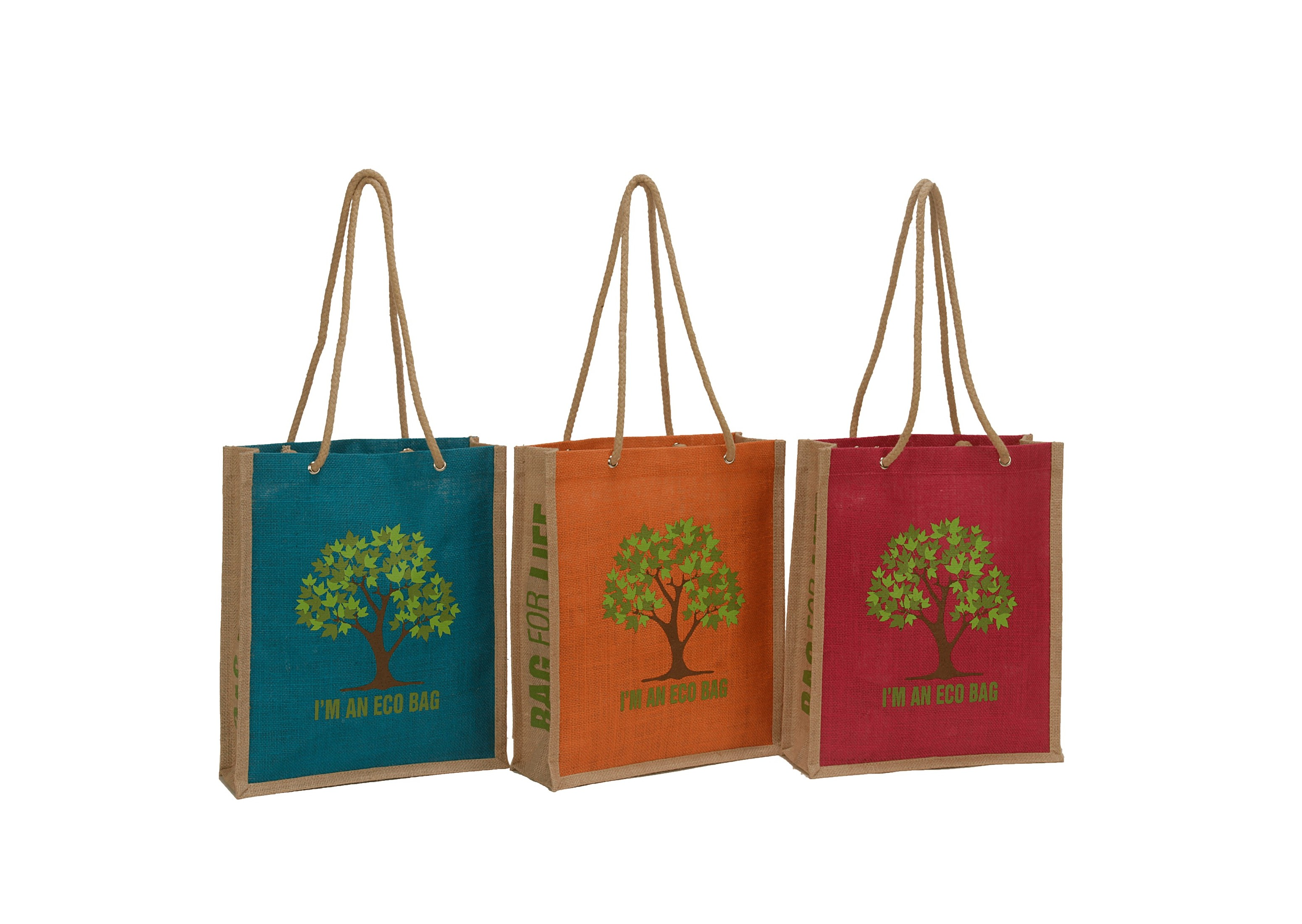 Custom Reusable Tote Bag with Rope Handle
