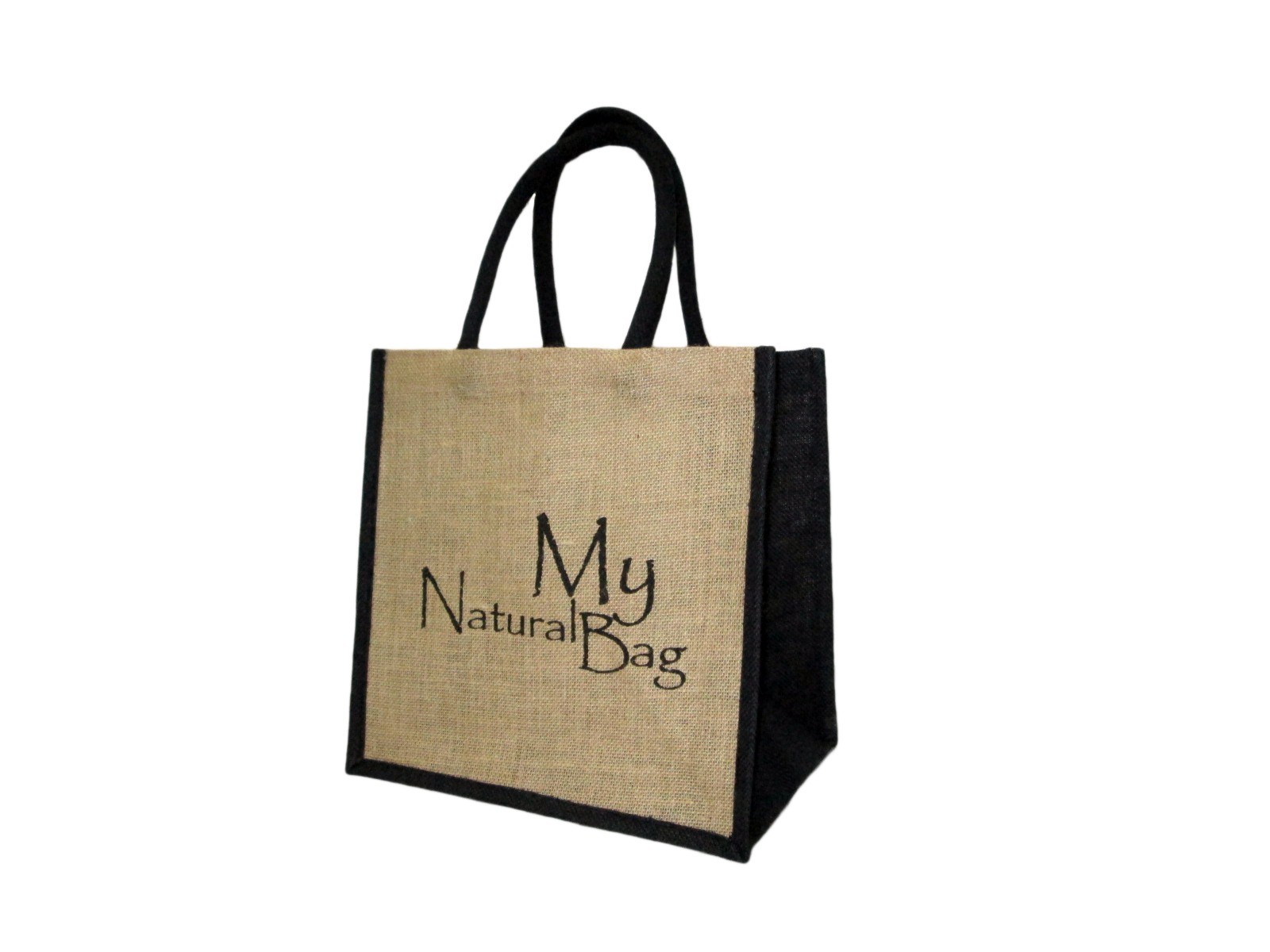 Eco-friendly Natural Jute Bag with Padded Handle