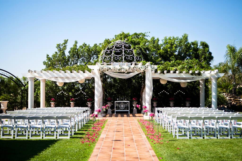 Eco-friendly wedding ceremony venue