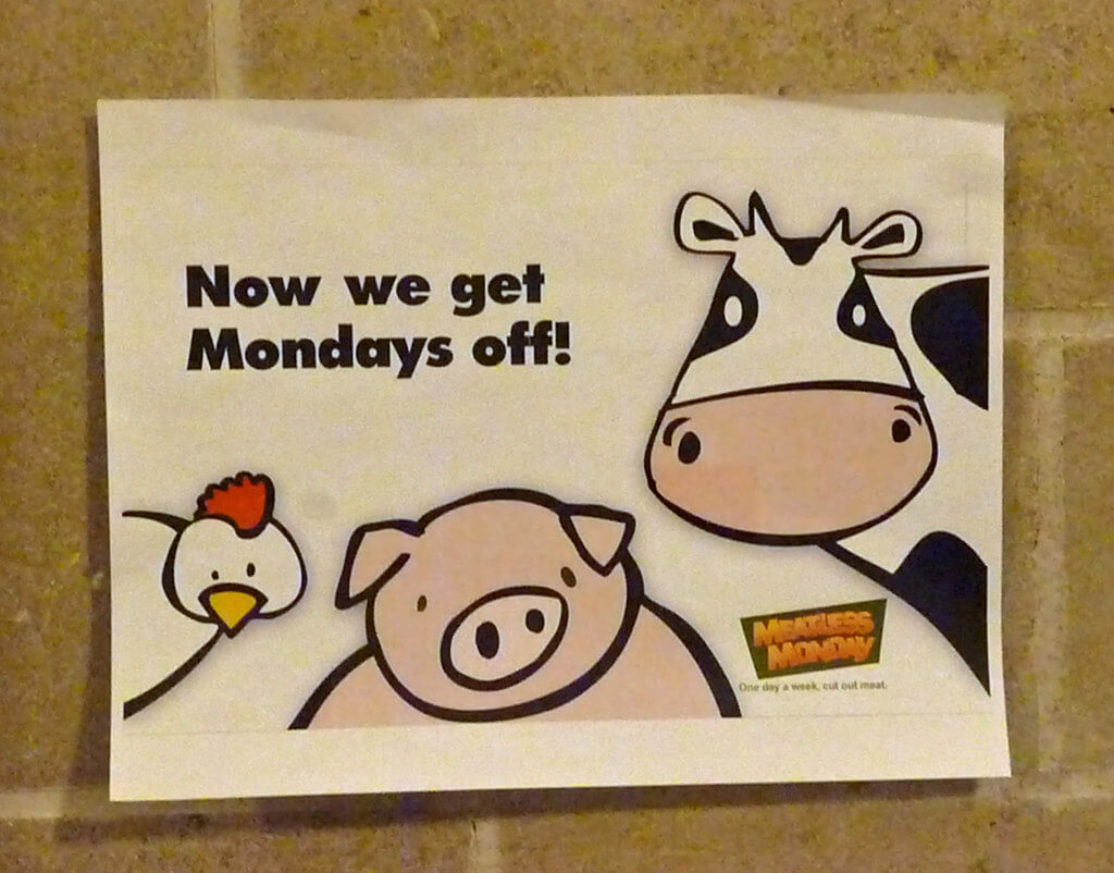 meatless monday initiative banner