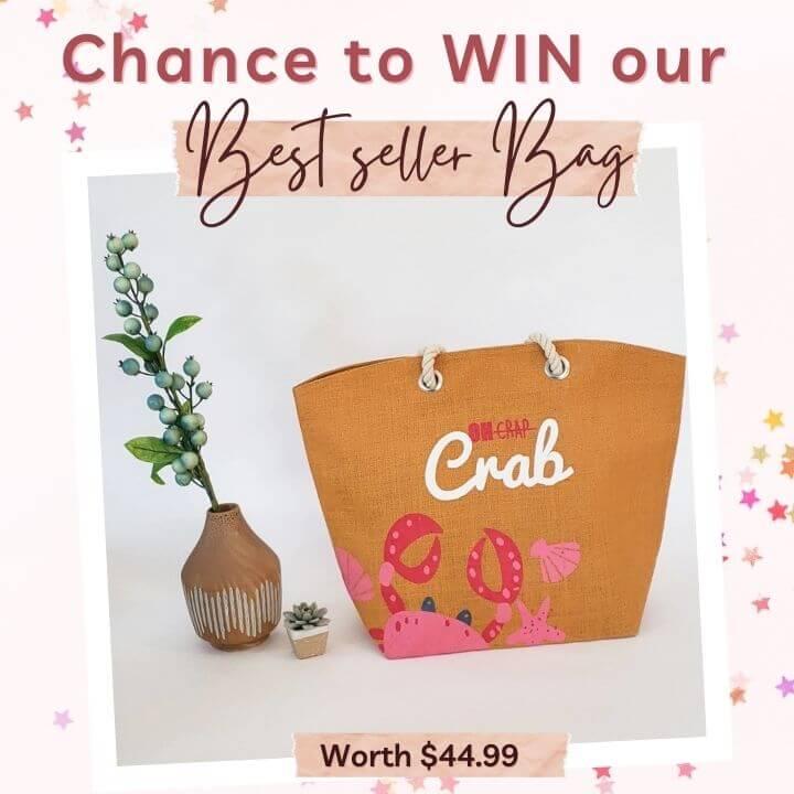 Raffle contest bag