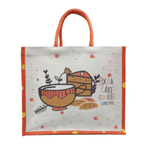 Cute Christmas Reusable Gift Bag