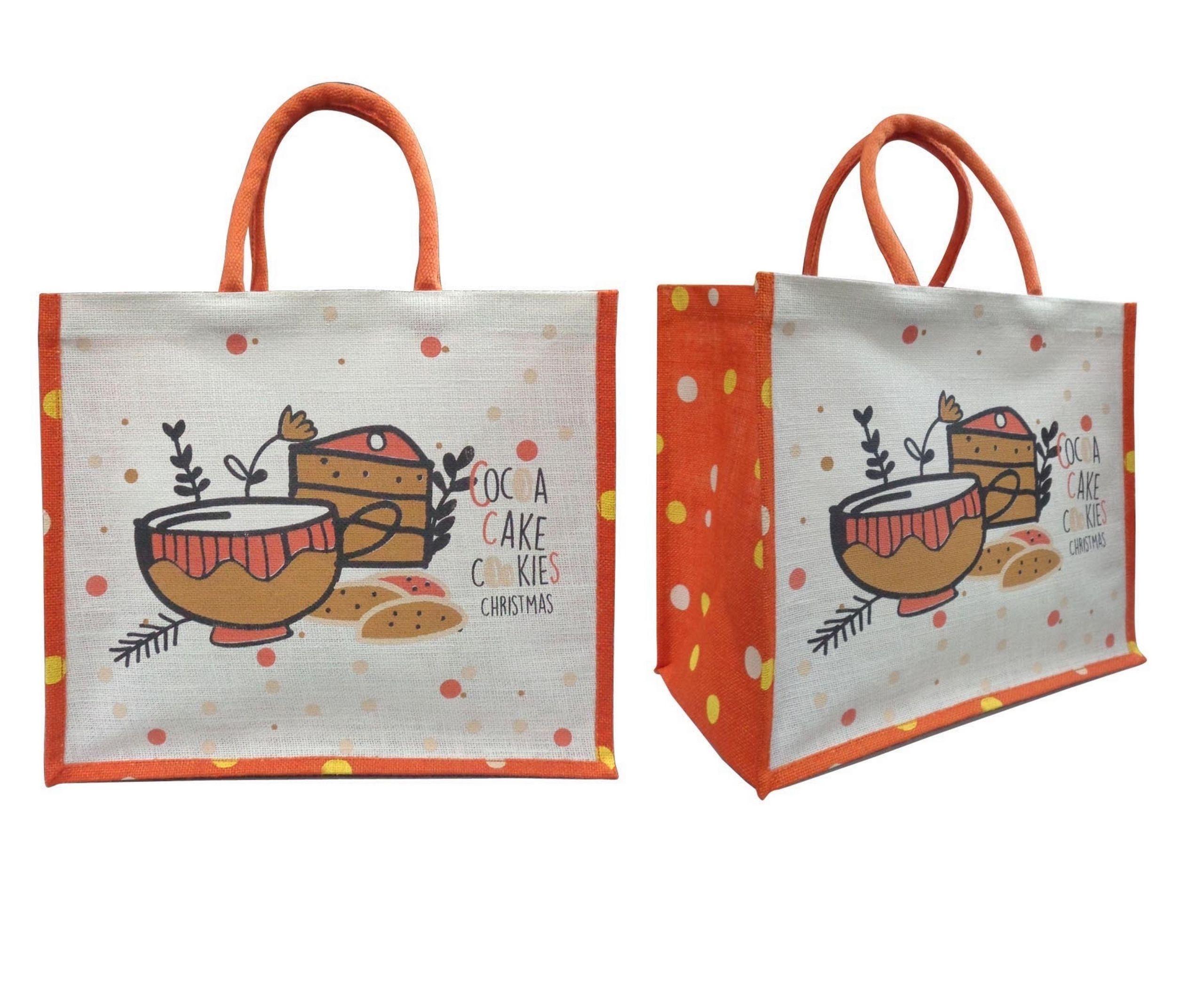 Cute Christmas Reusable Gift Bag