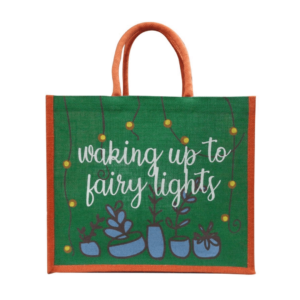 Fairy Lights Reusable Christmas Bag