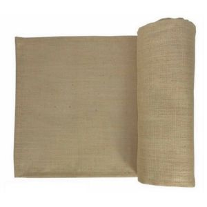 Rustic Burlap Table Runner for Weddings & Decorations