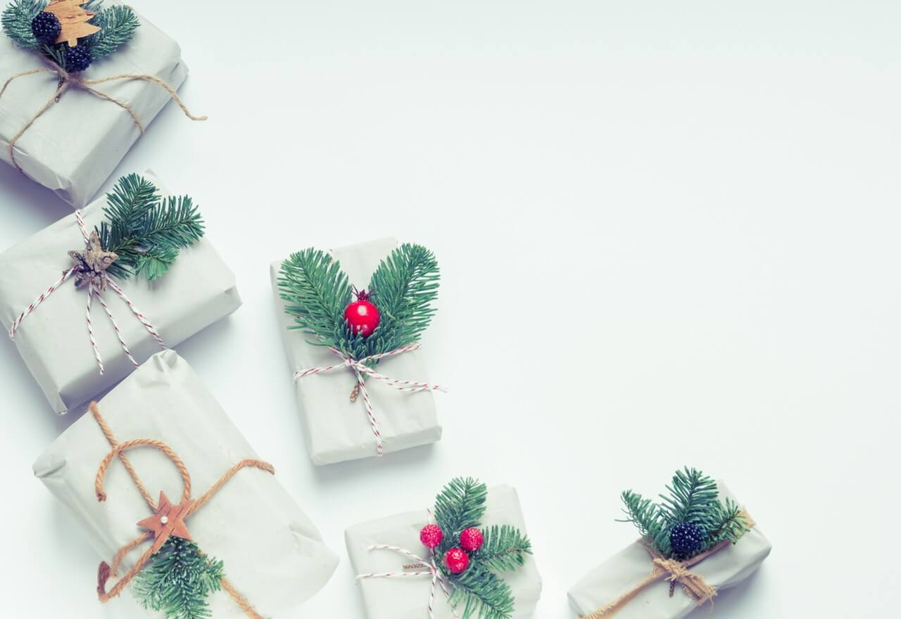 eco-friendly gift wrapping for Christmas