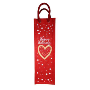 Reusable Christmas Wine bag