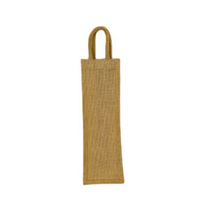 Natural Jute Wine Bag with Padded Handle