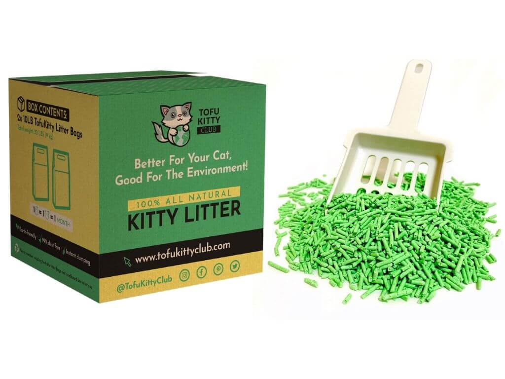 Eco-friendly Soy-based Cat Litter