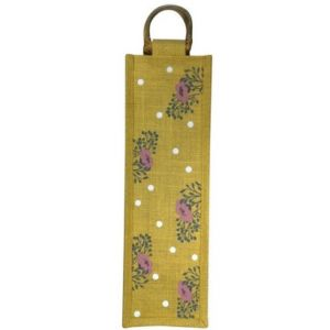 Polka & Petals Reusable Wine Bag