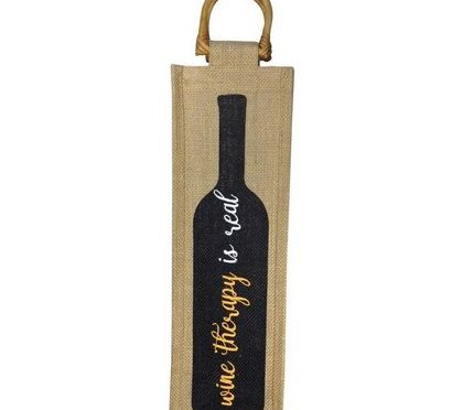 Wine Therapy Reusable Wine Bag