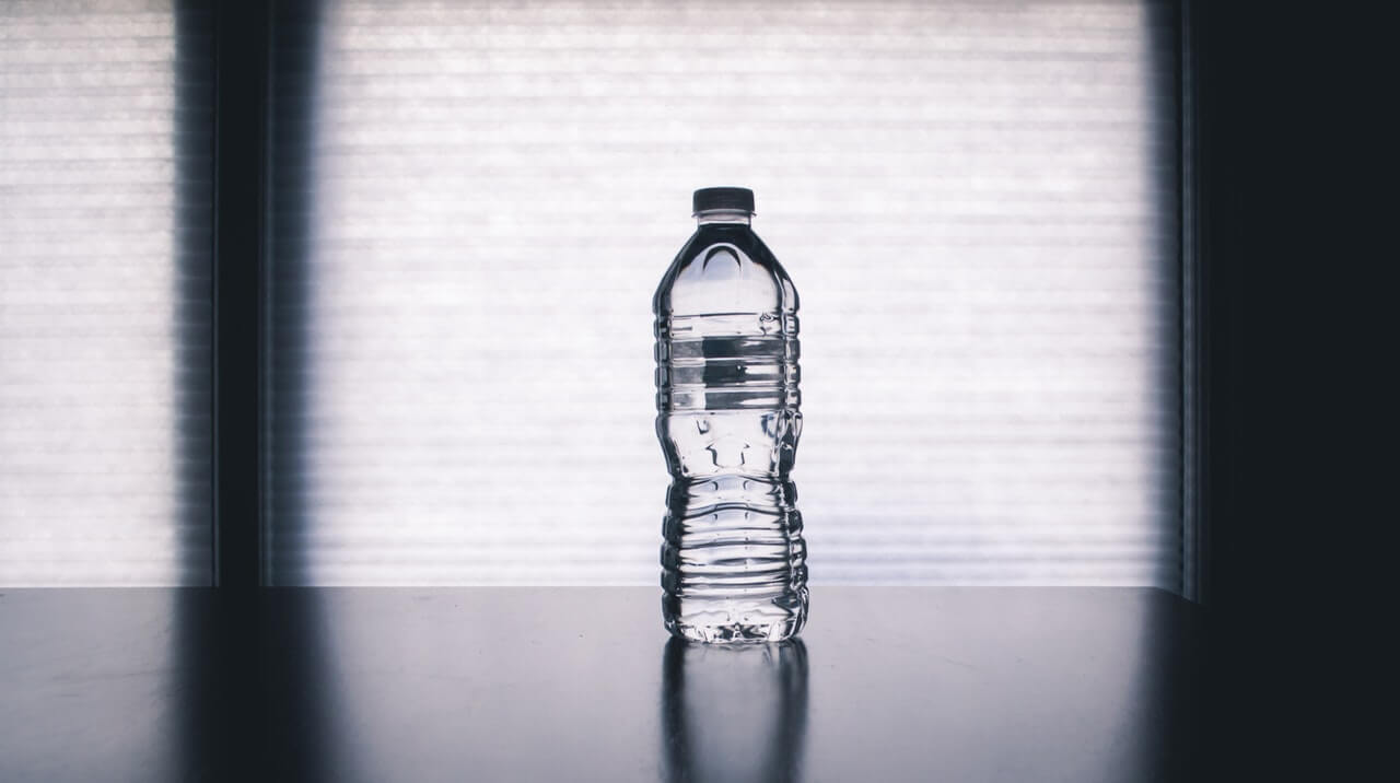 disposable water bottle