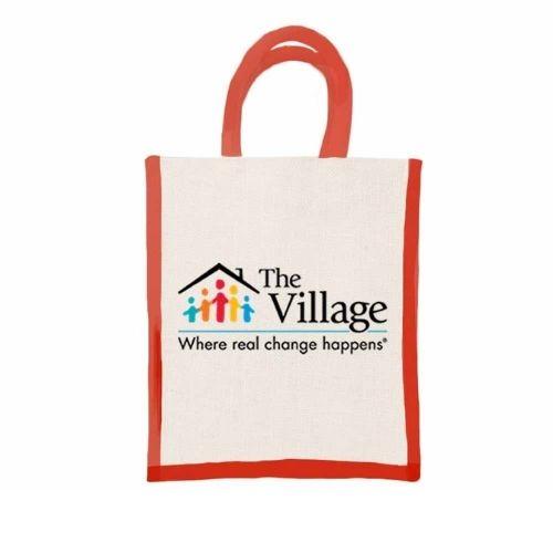 The Village customised jute bag